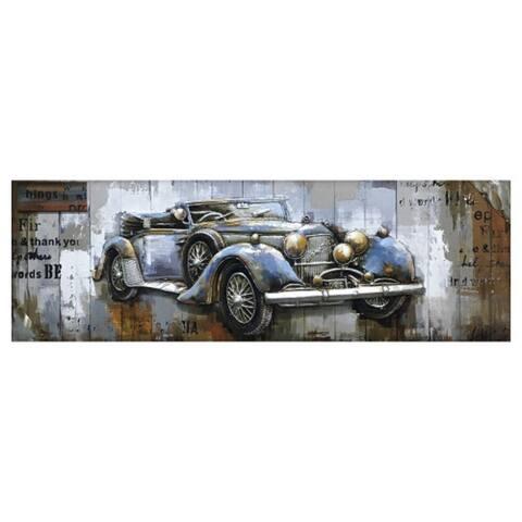 "Yosemite Home Décor ""Vintage Car Collection"" Wood Wall Décor"