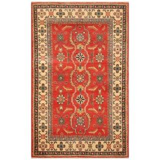 Handmade Kazak Wool Rug (Afghanistan) - 2'8 x 4'5