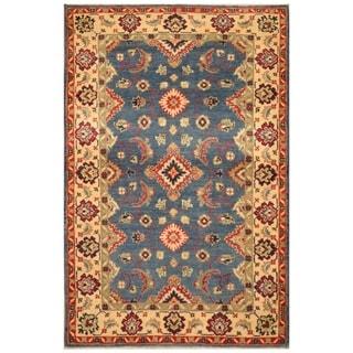 Handmade Kazak Wool Rug (Afghanistan) - 3'1 x 5'