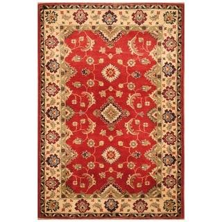 Handmade Kazak Wool Rug (Afghanistan) - 3'4 x 5'