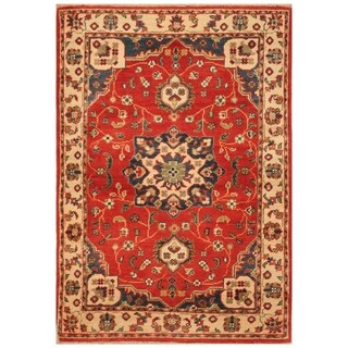 Handmade Kazak Wool Rug (Afghanistan) - 2'10 x 4'1