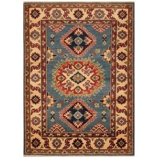 Handmade Kazak Wool Rug (Afghanistan) - 3'1 x 4'3