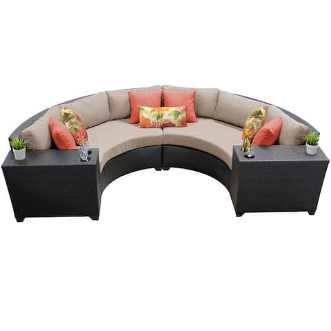 Barbados 4-piece Outdoor Wicker Patio Furniture Set