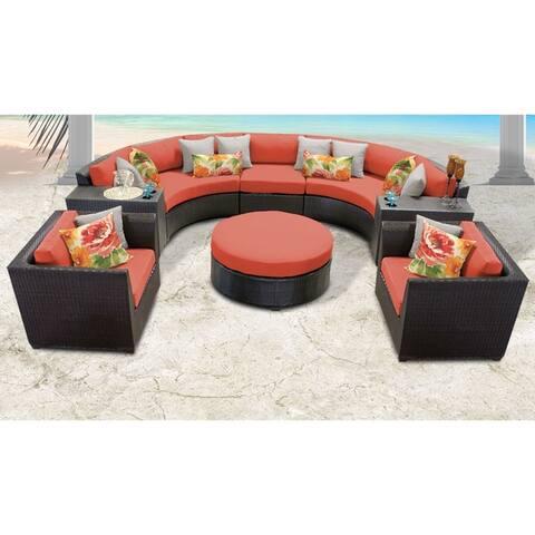 Barbados 8 Piece Outdoor Wicker Patio Furniture Set 08e