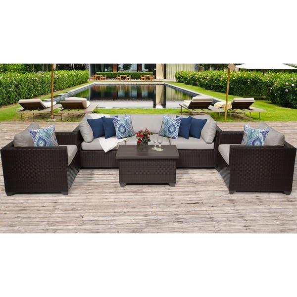 Outdoor Wicker Patio Furniture Set 06b