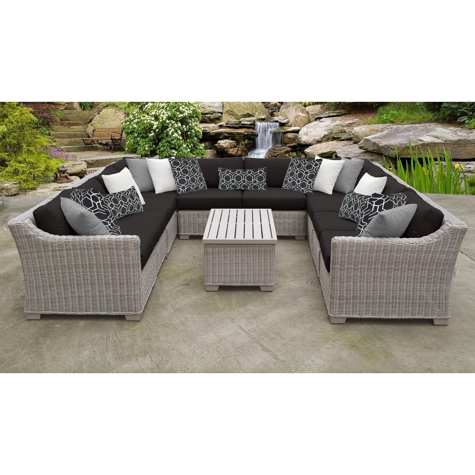 Outdoor Wicker Patio Furniture Set 11a