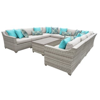 Fairmont 11 Piece Sectional Seating Group with Cushion
