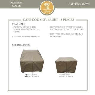 CAPECOD-03a Protective Cover Set