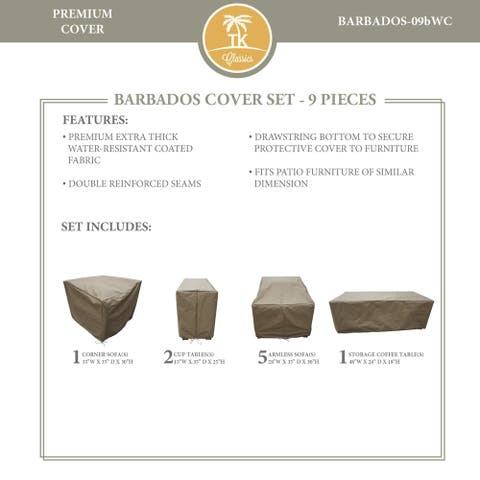 BARBADOS-09b Protective Cover Set
