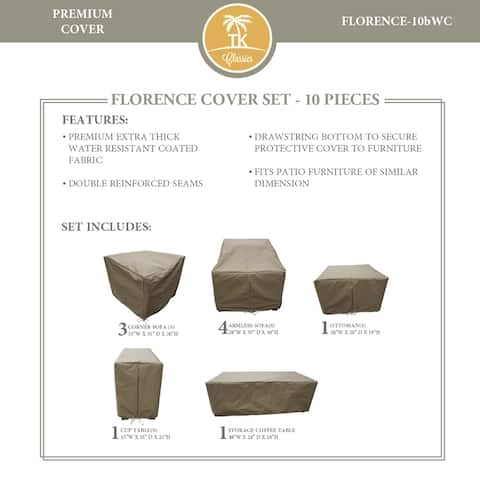 FLORENCE-10b Protective Cover Set