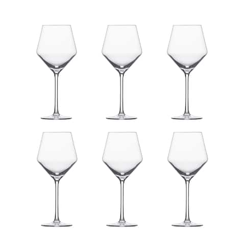 Schott Zwiesel Pure Beaujolais Tritan Crystal Light Red Wine Glass Set