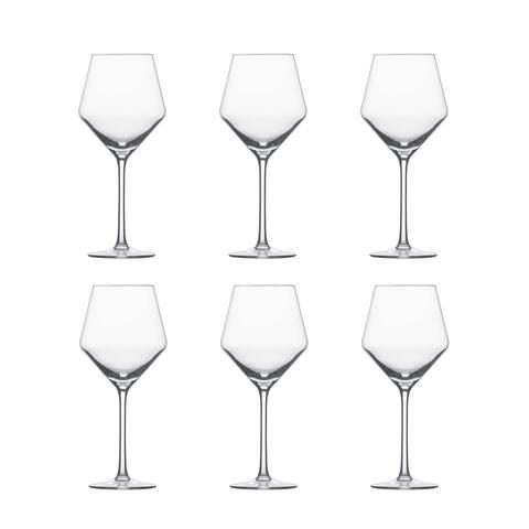 Schott Zwiesel Pure Beaujolais Tritan Crystal Light Red Wine Glass Set