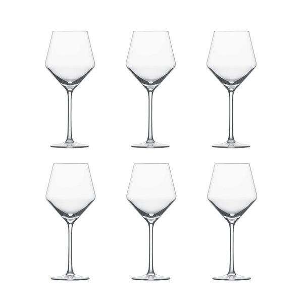 563e17b4c56 Shop Schott Zwiesel Pure Beaujolais Tritan Crystal Light Red Wine Glass Set  - Free Shipping Today - Overstock - 26274295