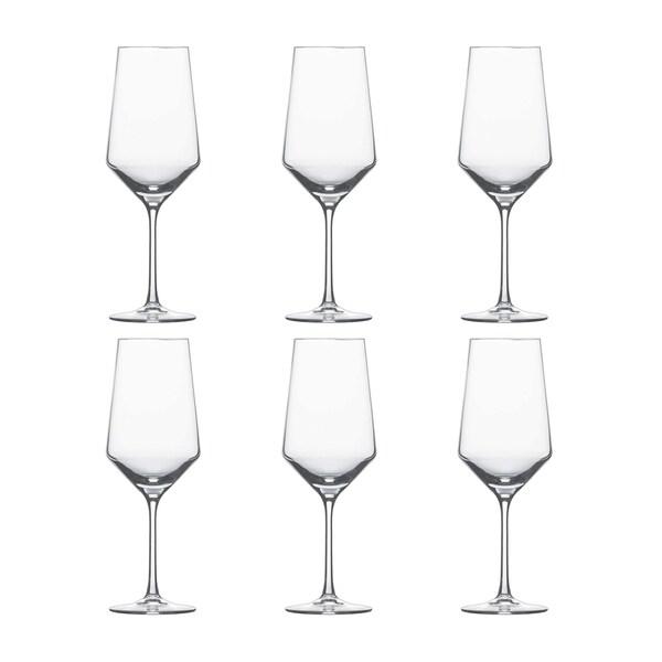 f6b4f8cbc9e3 Shop Schott Zwiesel Pure Bordeaux Tritan Crystal Wine Glass Set - Free  Shipping Today - Overstock - 26274296