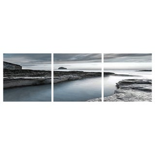 Yosemite Home Décor Untouched Beauty Tempered Glass Wall Art - Multi-color