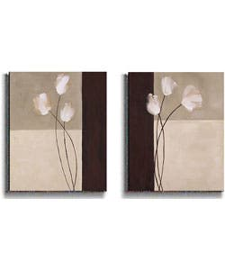 K. Parker Floral Whispers 2-piece Stretched Canvas Set|https://ak1.ostkcdn.com/images/products/2627435/K.-Parker-Floral-Whispers-2-piece-Stretched-Canvas-Set-P10832300.jpg?impolicy=medium