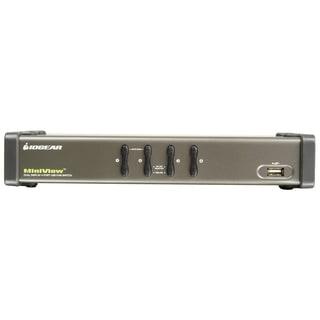 IOGEAR MiniView GCS1744 4-Port Dual View KVM Switch