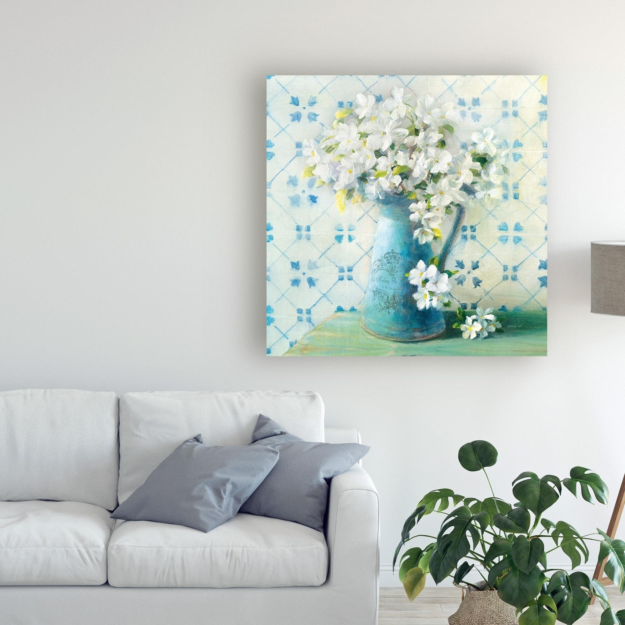 Danhui Nai May Blossoms Ii Crop Canvas Art Overstock 26274910