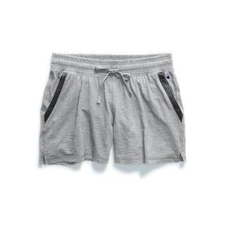 Heathered Jersey Short