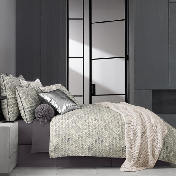 Five Queens Court Haven Twill Cotton 4 Piece Comforter Set