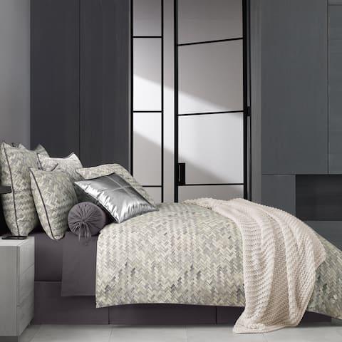 Porch & Den Etruria Twill Cotton 4-piece Comforter Set