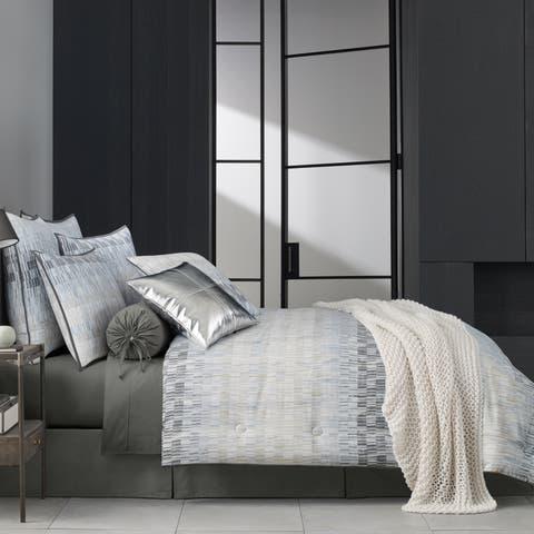 Porch & Den Garlough Twill Cotton 4-piece Comforter Set