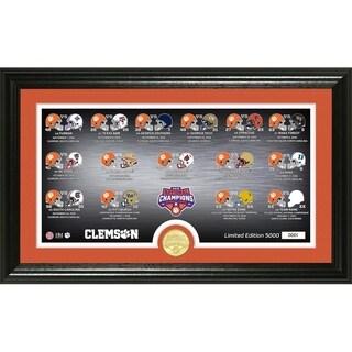 Clemson Tigers 2018 CFP Championship Season Scores Pano Photo Mint
