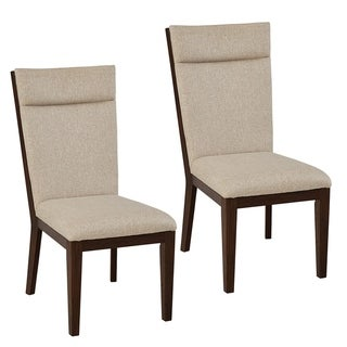 Standard Furniture Dumont 2-Pack Upholstered Side Chairs, Sand