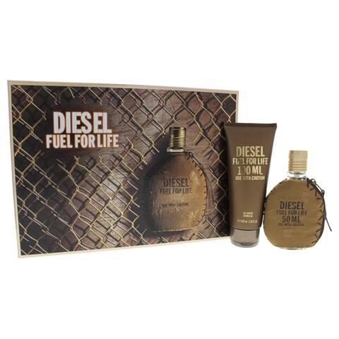 Diesel Fuel For Life Men's 2-piece Gift Set
