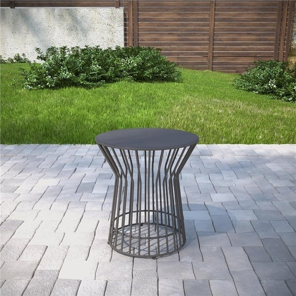Novogratz Poolside Collection Roberta Outdoor Side Table. Opens flyout.