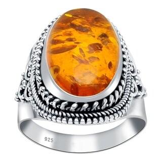 Handmade 925 Sterling Silver Gemstone Bridal Ring with Choice of Gemstone