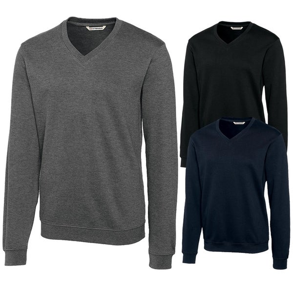 08fdd780ce Shop Cutter and Buck Journey Supima V Neck Golf Sweater (Big and ...
