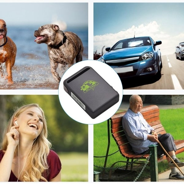 Shop Mini Size GPS Cars Tracker Device GPS SMS GPRS SOS Built-In