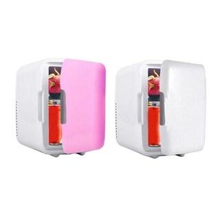 Car Freezer 4L Mini Fridge Refrigerator Dual Use Car Fridge 12V Cooler Heater