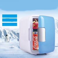 Car Home Refrigerator Mini Frige 4l Small Heating And Cooling Box