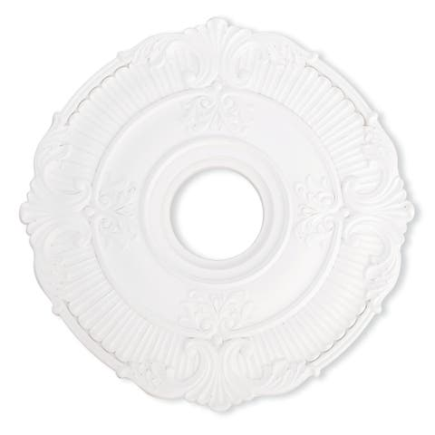 Livex Lighting Buckingham White Ceiling Medallion