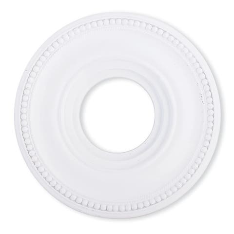 Livex Lighting Wingate White Ceiling Medallion