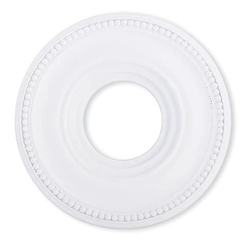 Livex Lighting Wingate White Ceiling Medallion