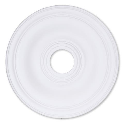 "Livex Lighting Basic 8219 Ceiling Medallion - 20"" dia. x 1.25"" h"