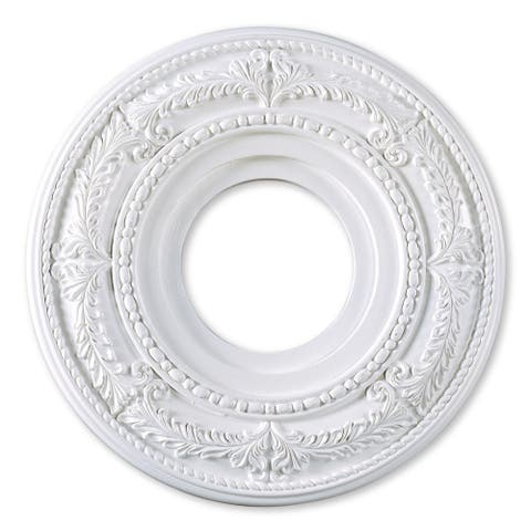 "Livex Lighting Versailles 8204 Ceiling Medallion - 12"" dia. x 1.25"" h"