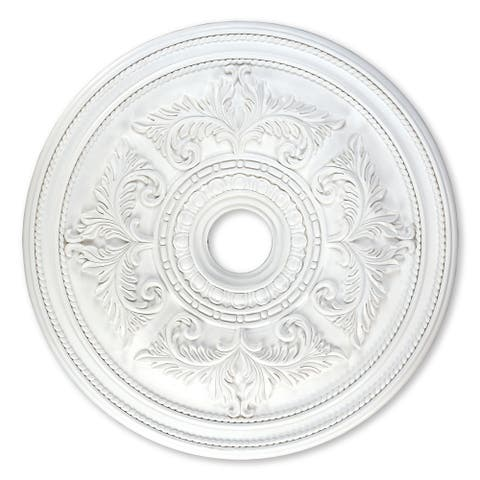 "Livex Lighting Versailles 8210 Ceiling Medallion - 30.5"" dia. x 1.5"" h"