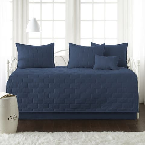 The Brickyard Collection 6 Piece Twin Day Bed Cover Set