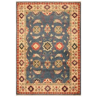 Handmade Kazak Wool Rug (Afghanistan) - 2'10 x 4'2