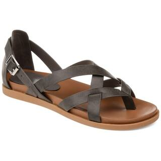 Journee Collection Ziporah Women's Faux Leather Sandal
