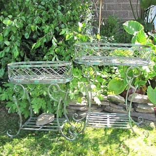 Set of 2 Plant Stands