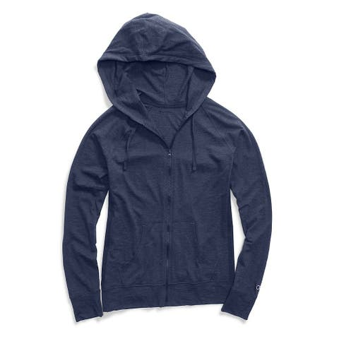 Heathered Jersey Jacket