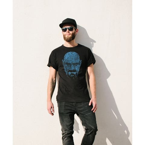AFONiE Breaking Bad Walter Hartwell Face T-shirt