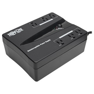 Tripp Lite UPS 350VA 180W Desktop PC / MAC Battery Back Up Compact 12