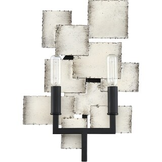 Quoizel Torrance Old Silver 2-light Wall Sconce