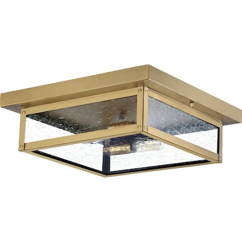 Quoizel Westover 2-light Outdoor Flush Mount